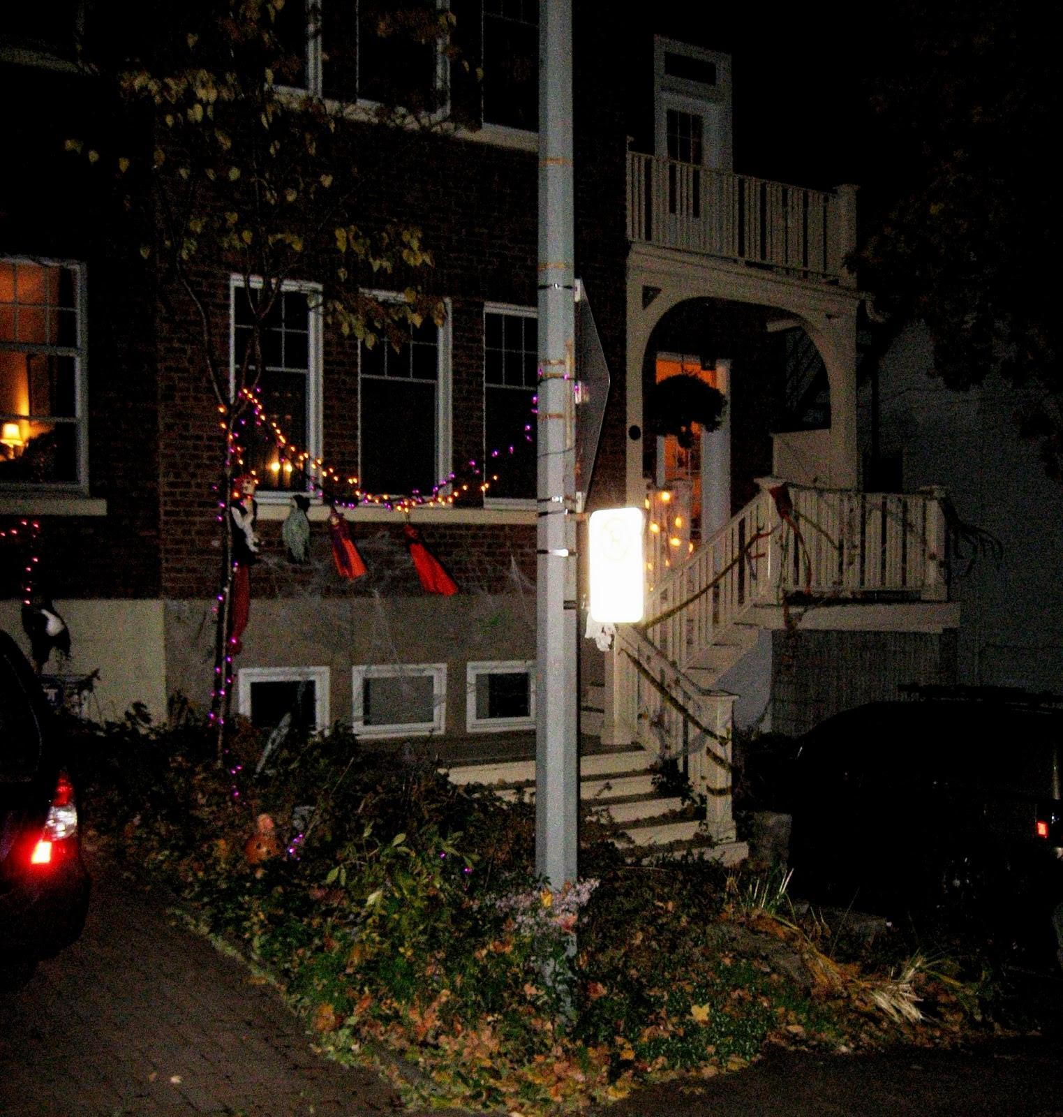 Customized Halloween House in Montreal